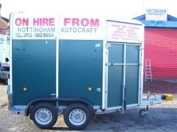 Motorcycle Trailer Hire Nottingham